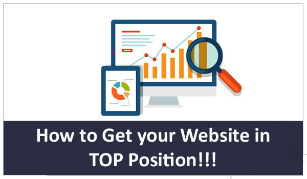 Website in Top Position